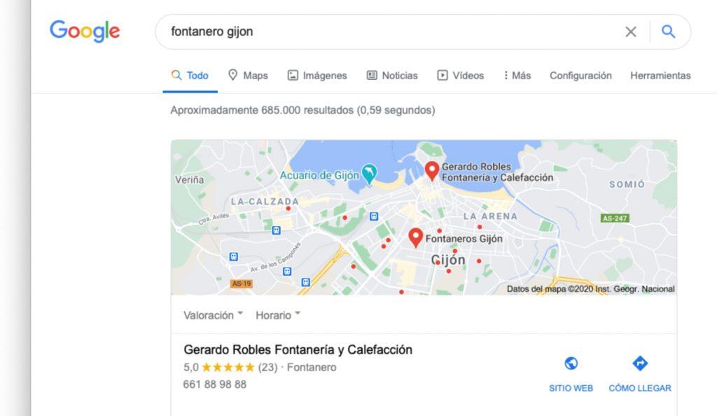 Fontanero en Gijón